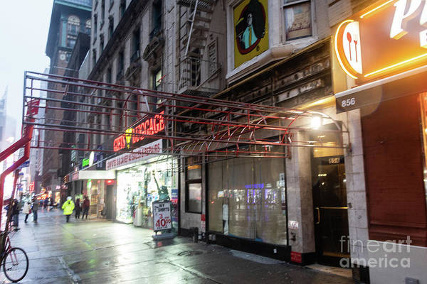 Photograph - Remains Of The Carnegie Deli by Thomas Marchessault