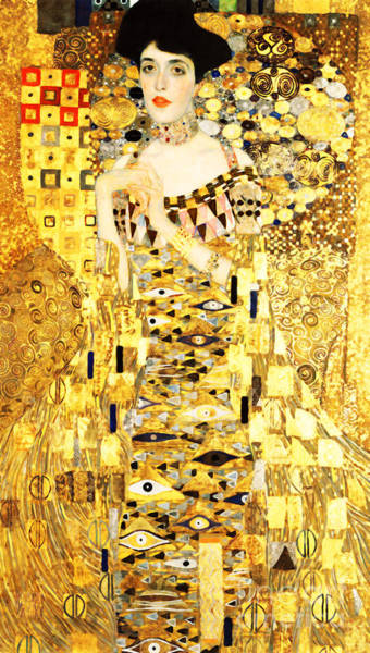 Photograph - Remastered Art Adele Bloch Bauer I By Gustav Klimt 20190214a Long by Wingsdomain Art and Photography