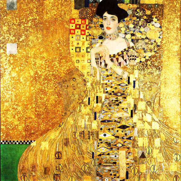 Photograph - Remastered Art Adele Bloch Bauer I By Gustav Klimt 20190214b by Wingsdomain Art and Photography