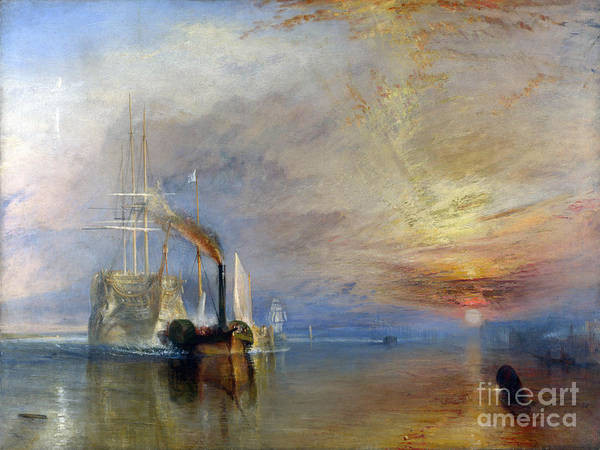 Photograph - Remastered Art The Fighting Temeraire By Jmw Turner 20190310 by Wingsdomain Art and Photography