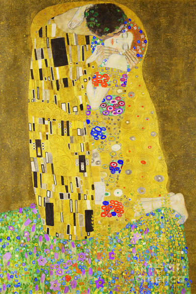 Photograph - Remastered Art The Kiss By Gustav Klimt 20190214 by Wingsdomain Art and Photography