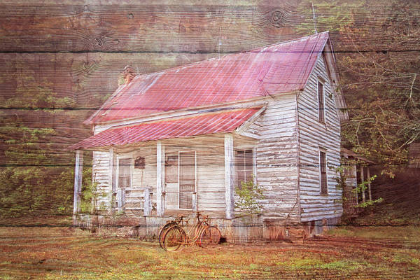 Wall Art - Photograph - Remembering In Wood Textures by Debra and Dave Vanderlaan