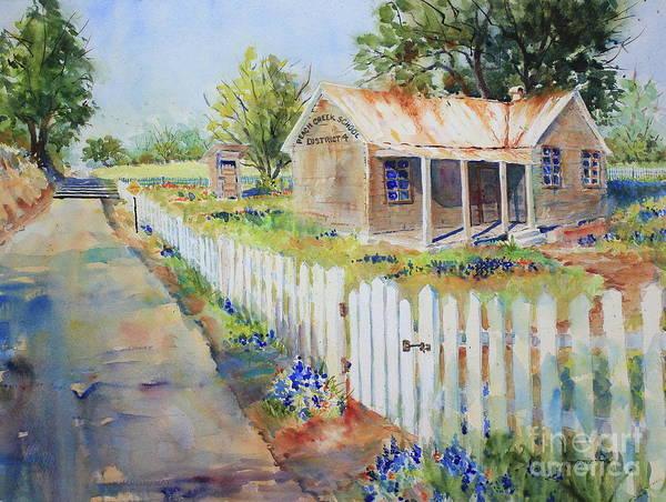 Wall Art - Painting - Remembering Peach Creek by Marsha Reeves