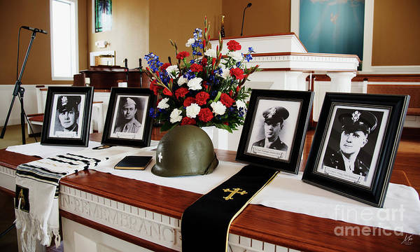 Wall Art - Photograph - Remembering The Four Chaplains by Anita Faye