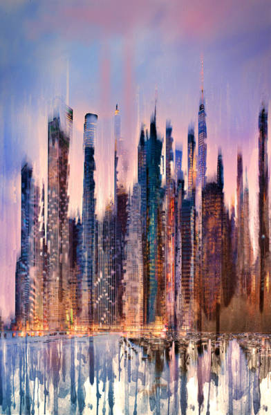 City Scape Digital Art - Remembrance by Tim Palmer