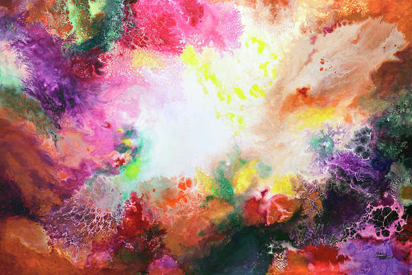 Painting - Remnants And Rebirth by Sally Trace