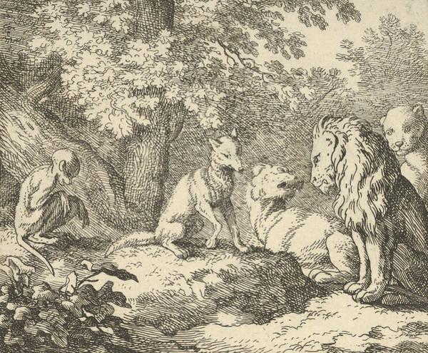 Relief - Renard Continues His False Revelations by Allaert van Everdingen