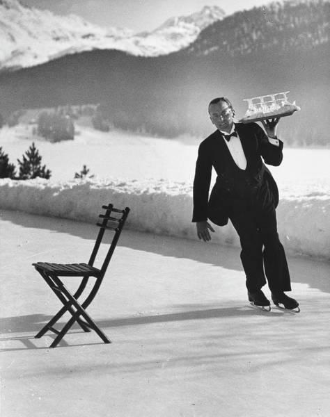 Waiter Photograph - Rene Breguet by Alfred Eisenstaedt