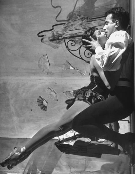 Wall Art - Photograph - Renee Jeanmaireroland Petit by Gordon Parks