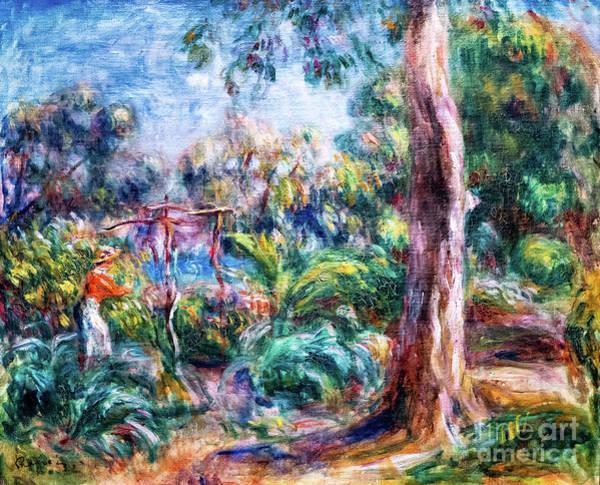 Painting - Renoir Le Grande Arbre by Auguste Renoir