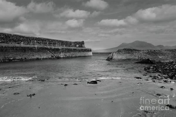 Photograph - Renvyle Pier by Peter Skelton