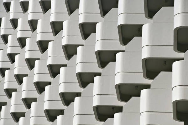 Repetition Photograph - Repetition In Modern Architecture by Just One Film
