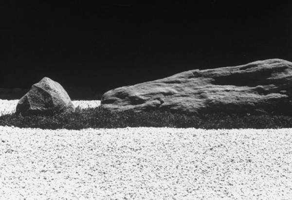 Photograph - Replica Of Ryoanja Stone Garden In Kyoto by Alfred Eisenstaedt