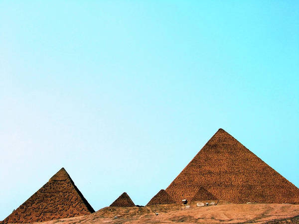 Out Of Context Photograph - Replica Of The Great Pyramid Of Giza by Nora Carol Photography