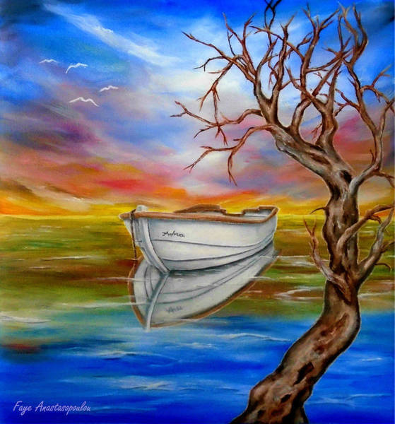 Wall Art - Painting - Repose by Faye Anastasopoulou