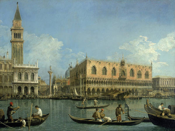 Wall Art - Painting - Republic Of Venice by Canaletto