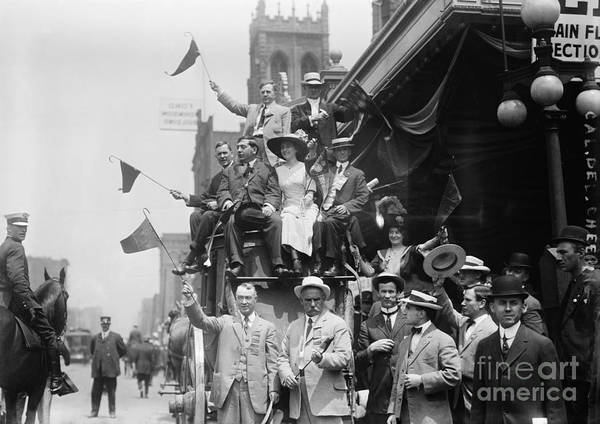Photograph - Republican Convention 1912 by Granger
