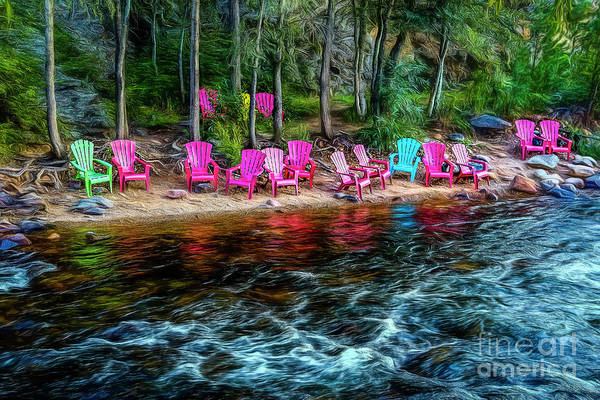 Photograph - Reserved Seats by Jon Burch Photography