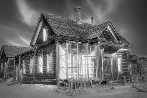 Wall Art - Photograph - Residence Of James S Cain -  Black And White by Donna Kennedy