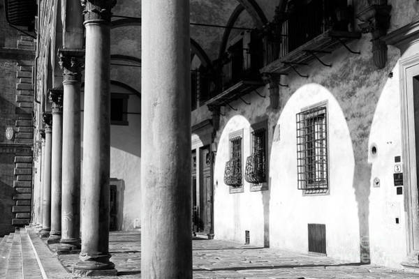 Photograph - Residence Of The Academy Gallery In Florence by John Rizzuto