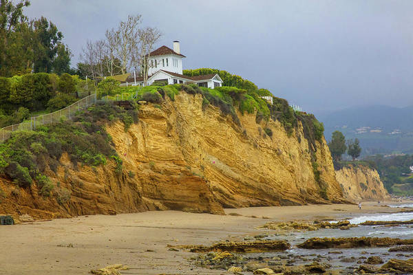 Wall Art - Photograph - Resort On A Cliff, Paradise Cove by Panoramic Images