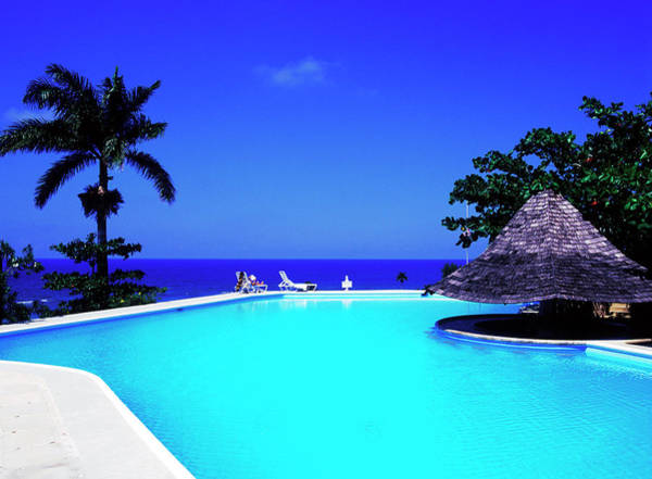 Montego Bay Photograph - Resort Pool by Greg Johnston