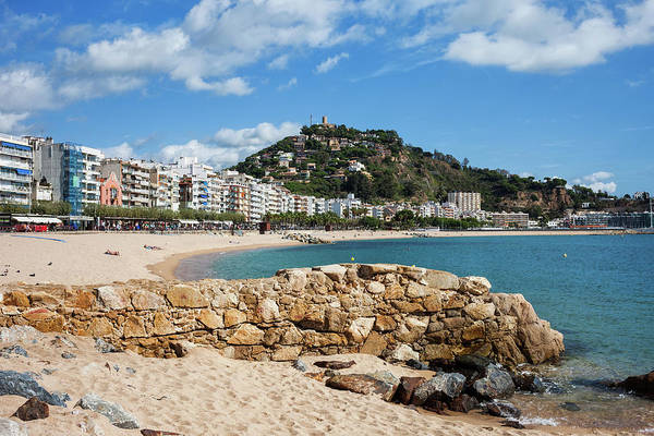 Wall Art - Photograph - Resort Town Of Blanes In Spain by Artur Bogacki