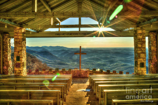 Wall Art - Photograph - Resplendent Light Pretty Place Chapel Camp Greenville South Carolina Landscape Art by Reid Callaway