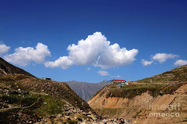 Photograph - Rest House On Mountain Top At Lake Saiful Muluk Kaghan Valley Pakistan by Imran Ahmed