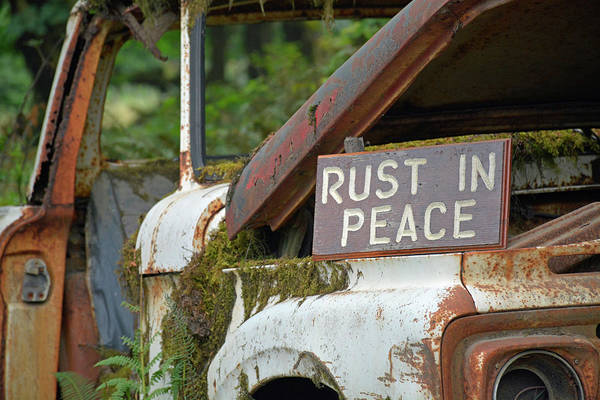 Photograph - Rest In Rusty Peace by Bruce Gourley