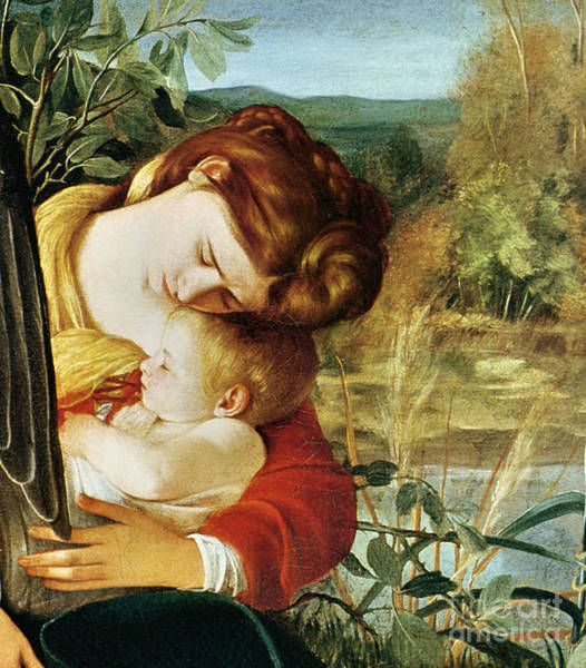 Wall Art - Painting - Rest On The Flight Into Egypt, Circa 1603, Detail by Michelangelo Merisi Da Caravaggio