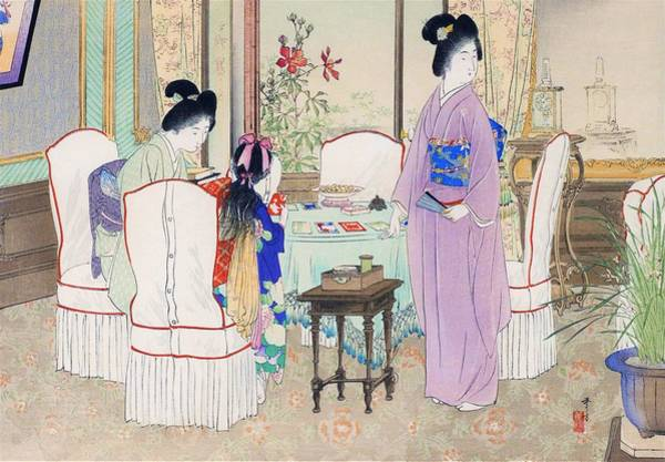 Wall Art - Painting - Rest Room - Top Quality Image Edition by Mizuno Toshikata