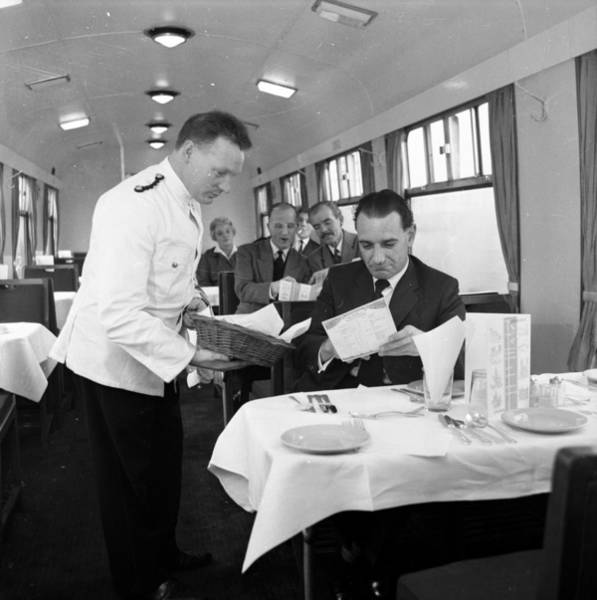 Service Photograph - Restaurant Car by John Drysdale