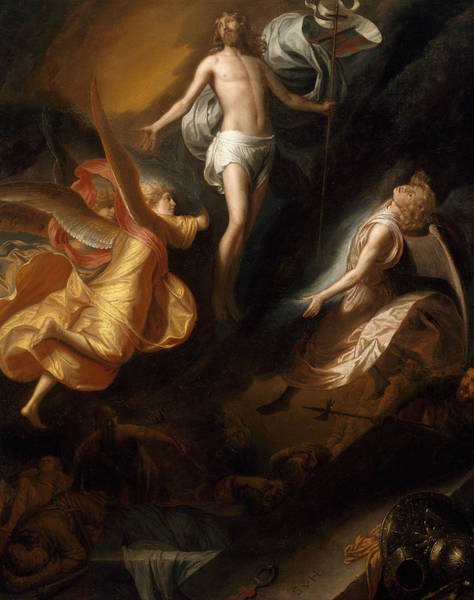 Wall Art - Painting - Resurrection Of Christ by Samuel van Hoogstraten
