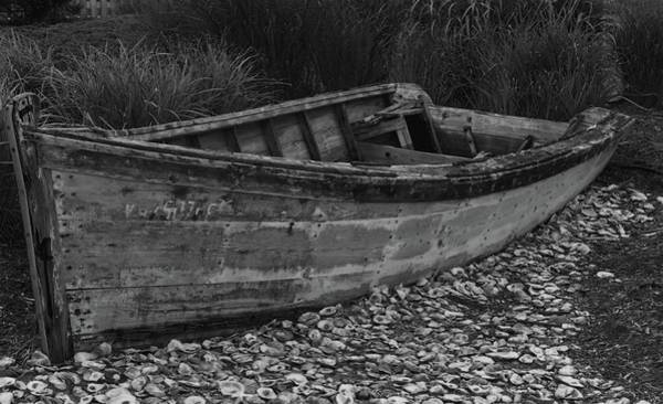 Photograph - Retired Row Boat by Jeremy Guerin