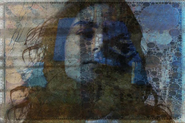 Wall Art - Digital Art - Retro _ Behind Blue Eyes  by Paul Lovering