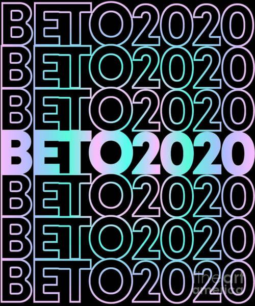 Digital Art - Retro Beto 2020 by Flippin Sweet Gear