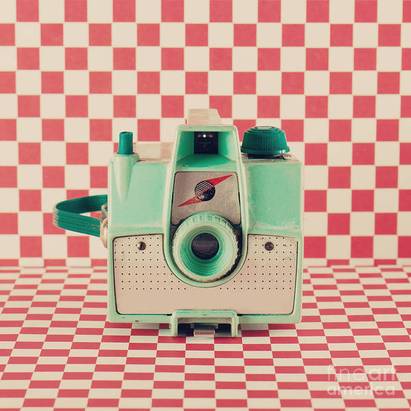 Wall Art - Photograph - Retro Camera by Andrekart Photography