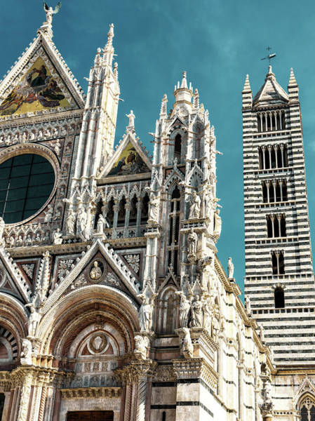 Photograph - Retro Duomo Di Siena by John Rizzuto