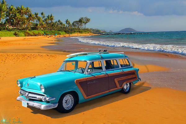 Wall Art - Photograph - Roaring 1950's Hawaii  by Michael Rucker