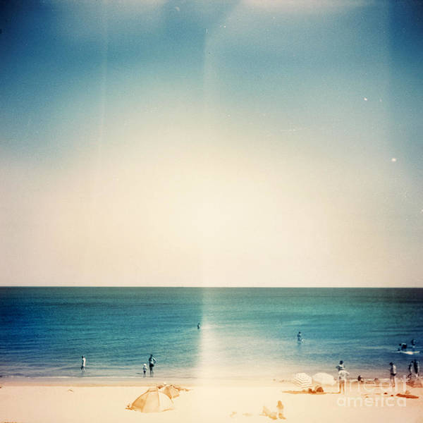 Wall Art - Photograph - Retro Medium Format Photo. Sunny Day On by Donatas1205