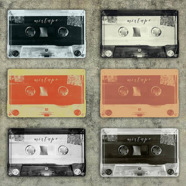 Photograph - Retro Mixtapes by Dirk Wuestenhagen