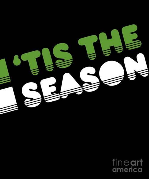 Digital Art - Retro Tis The Season Christmas by Flippin Sweet Gear
