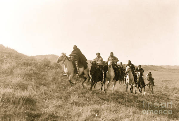 Wall Art - Photograph - Return Of Scouts Cheyenne 1910 by American School