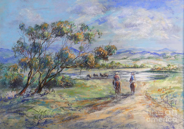 Painting - Return To Myall Creek by Ryn Shell