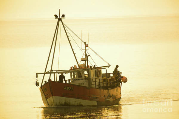 Photograph - Returning To Harbour by Keith Morris