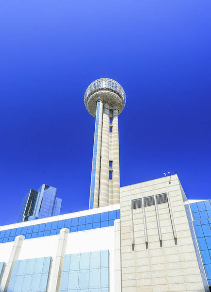 Photograph - Reunion Tower Dallas Texas by Dan Sproul