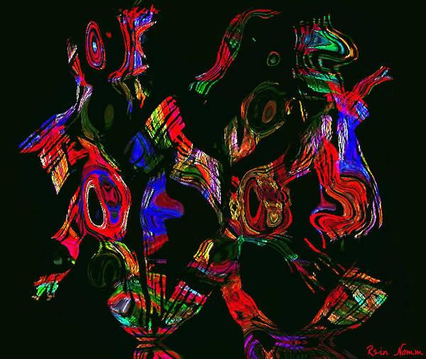 Digital Art - Reverb by Rein Nomm
