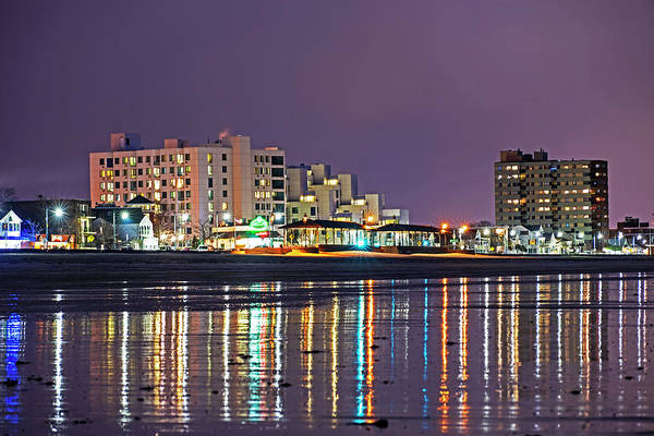Photograph - Revere Beach Reflection Ocean Ave by Toby McGuire