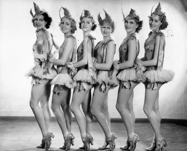 Revue Photograph - Revue Girls by Sasha